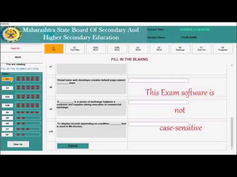 HSC IT ONLINE MOCK EXAM DEMO  by  - Prof. Tejas(IT), St.Xaviers