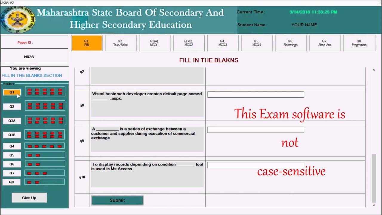 Ppt On Online Examination System Pdf