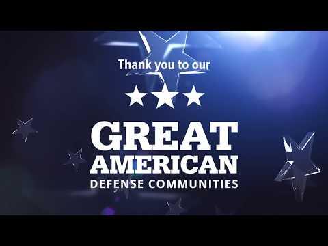 Great American Defense Communities Class of 2018
