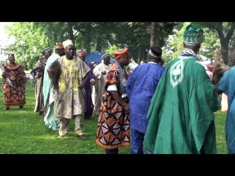 Dances from Cameroon's Yemba USA Group 2015 Festival Dances