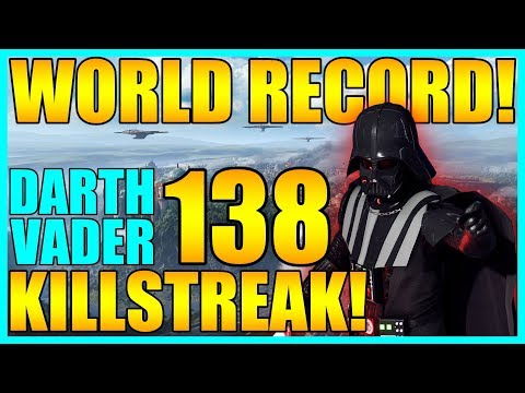 (World Record) 138 Darth Vader Gameplay/Killstreak