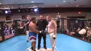 MMA Lake County Ca Night of the Warriors 7 Lakeport Ca Heavyweight fight Rich Loring vs Gary Grant