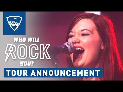 Who Will Rock You | Music Tour Announcement | Topgolf