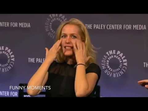 Gillian Anderson Funny Moments