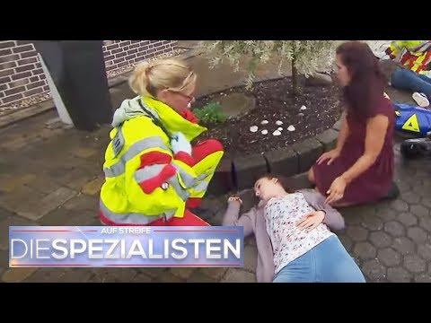Extremer Roller Unfall: Nicole vom Roller fies umgenietet | Birgit Maas | Die Spezialisten | SAT.1