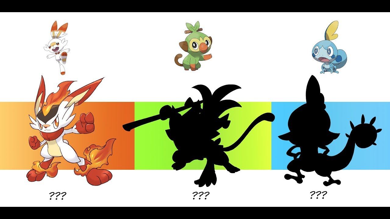 Pokemon Images Shiny Pokemon Gen 8 Starters Evolutions Ha (hidden ability) for those who dont know. shiny pokemon gen 8 starters evolutions
