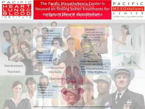 Information About The Pacific Mesothelioma Center Phlbi Youtube
