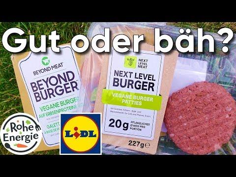 Next Level Burger von LIDL - Der Beyond Meat Fake im Test!
