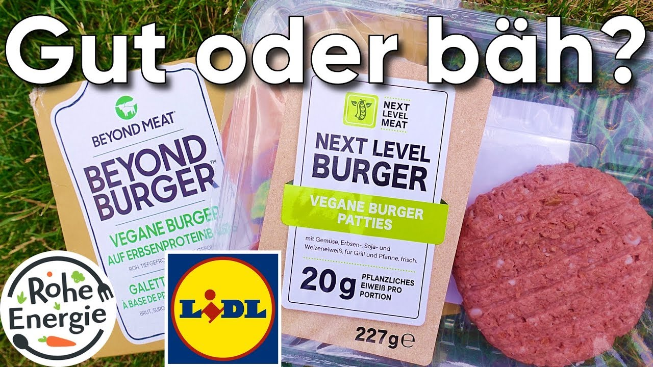 Next Level Burger von LIDL - Der Beyond Meat Fake im Test!