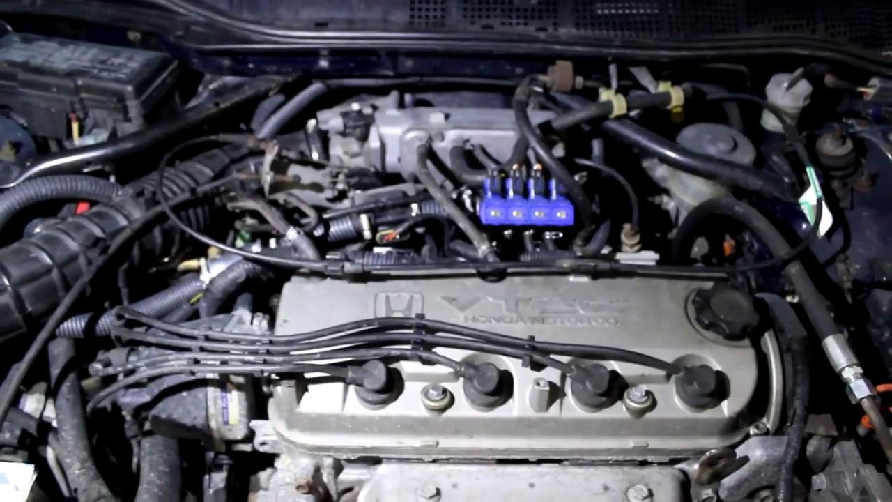 Honda Accord 2.0 (1999) ГБО - 4