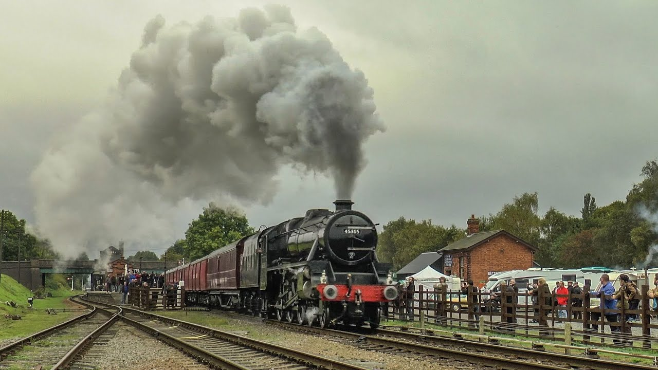The Black Fives, The Workhorses Of The LMS !