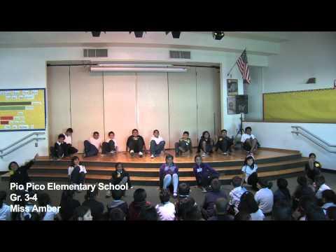 Pio Pico Elementary School's HipHop