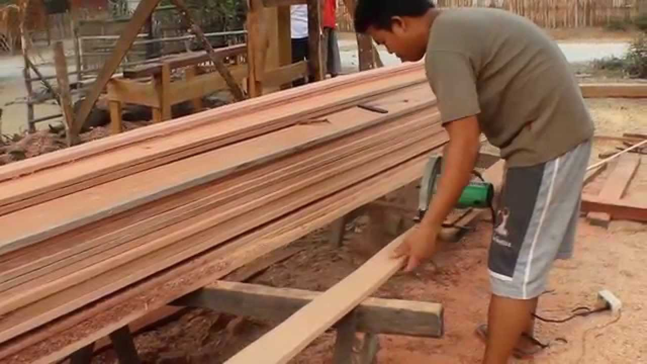 Rumah Kayu Indonesia  Workshop 1 YouTube