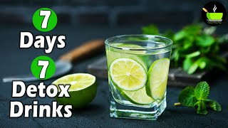 7 Day Detox Drink   Weight Loss Recipes   Detox Drinks To Lose Weight   Fat Cutter Drink