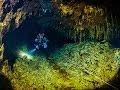 Slovak Opal Mines diving - Slovenske Opalove Bane