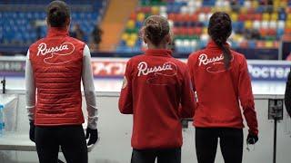 Медведева, Трусова и Константинова: тренировка перед Rostelecom Cup 2019