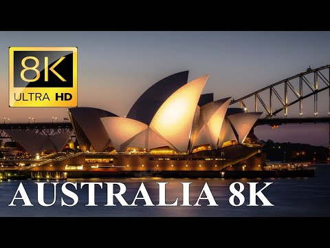 Australia 8K Ultra HD Drone Video – Outback and Skyscrapers