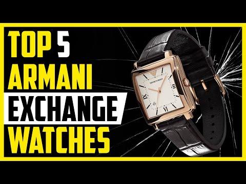 Top 5 Best Armani Exchange Watches In 2020 | Watches Studio