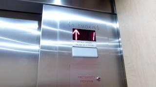 R.I.P.! (Ex-Montgomery) Kone/CKG Hydraulic Elevator at Target, Metropolis at Metrotown in Burnaby BC