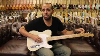 Norman's Rare Guitars - Guitar of the Day: 1955 Fender Esquire White Guard
