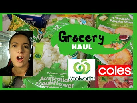 MARCH GROCERY HAUL AUSTRALIA 2020 | Shopping At Woolworths & Coles!