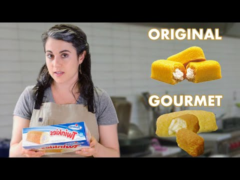 Pastry Chef Attempts To Make a Gourmet Twinkie | Bon Appetit