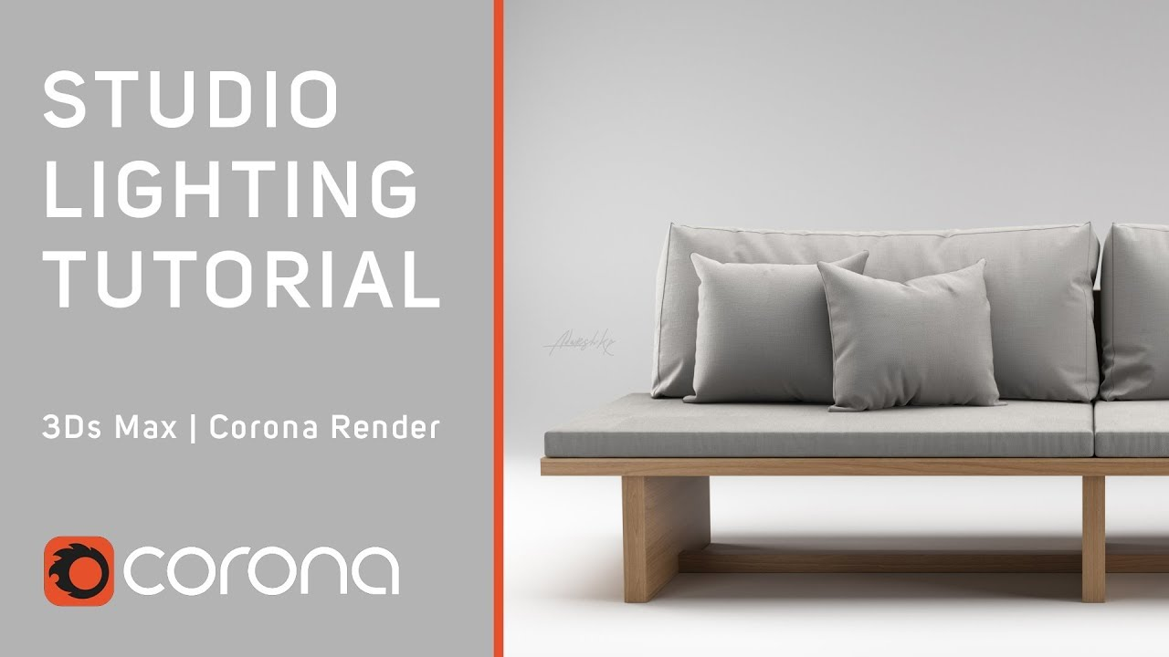 S Max Studio Lighting Tutorial Corona Render