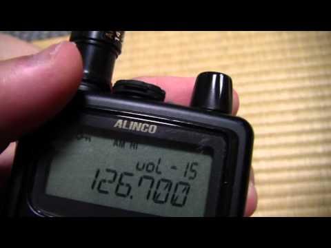 広帯域受信機 DJ-X8の使い方講座 ~基本編 その2~ 音量の調整