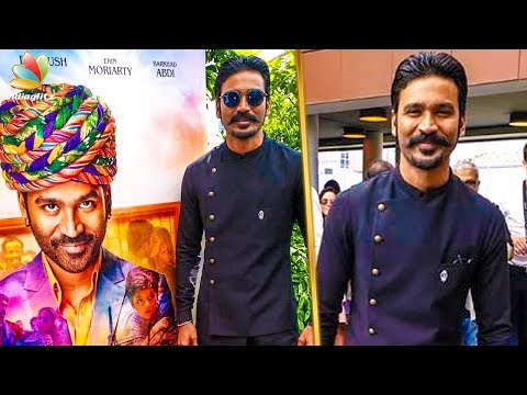 Dhanush goes to the Hollywood For Cannes   Film Festival   Latest Cinema News