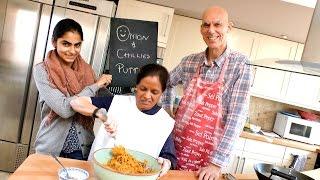 How to make awesome onion bhajis!
