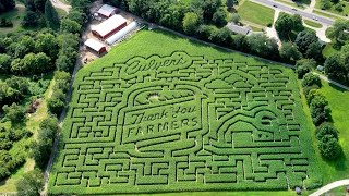 2015 Thank You Farmers Corn Maze in Kalamazoo, MI