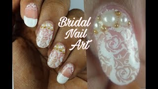 Bridal Nail Art | Polish Star