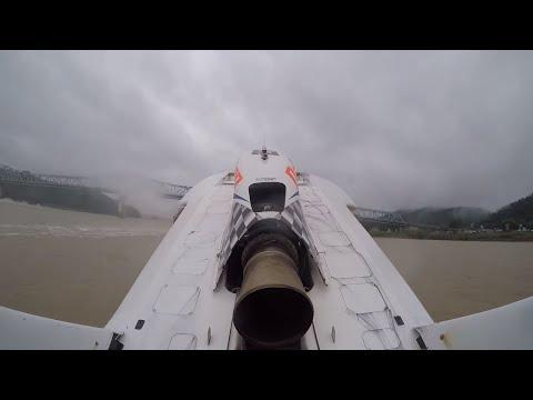 U-27 Dalton Industries flips: 2016 Madison Regatta Final Heat