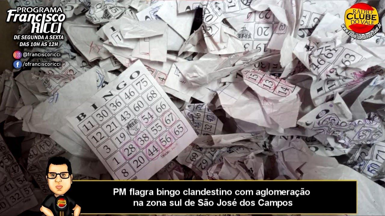 PM flagra bingo clandestino com aglomeração na zona sul de São José dos Campos