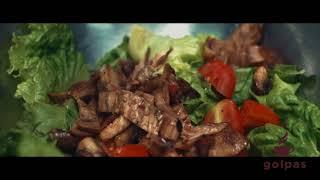 Салат с языком Golpas.com