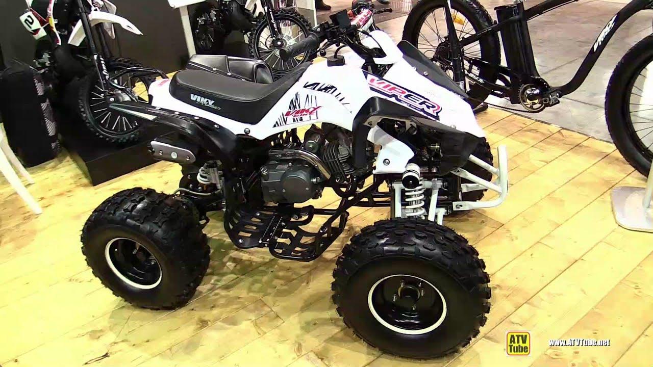 2015 Viper Tunning 125 Viky Quad ATV - Walkaround - 2014 EICMA Milan