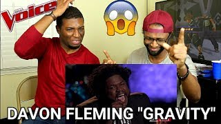 "The Voice 2017 Davon Fleming - Semifinals: ""Gravity"" (REACTION)"