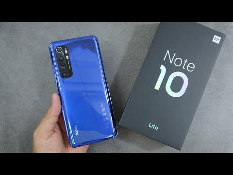Xiaomi MI Note 10 Lite unboxing, camera test