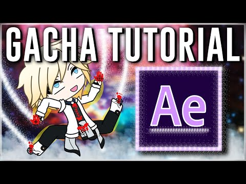 [TUTORIAL] HOW TO Animate Gacha Life | AFTER EFFECTS