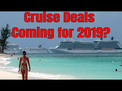 Are There Going To Be Big Cruise Sales Coming in 2019?