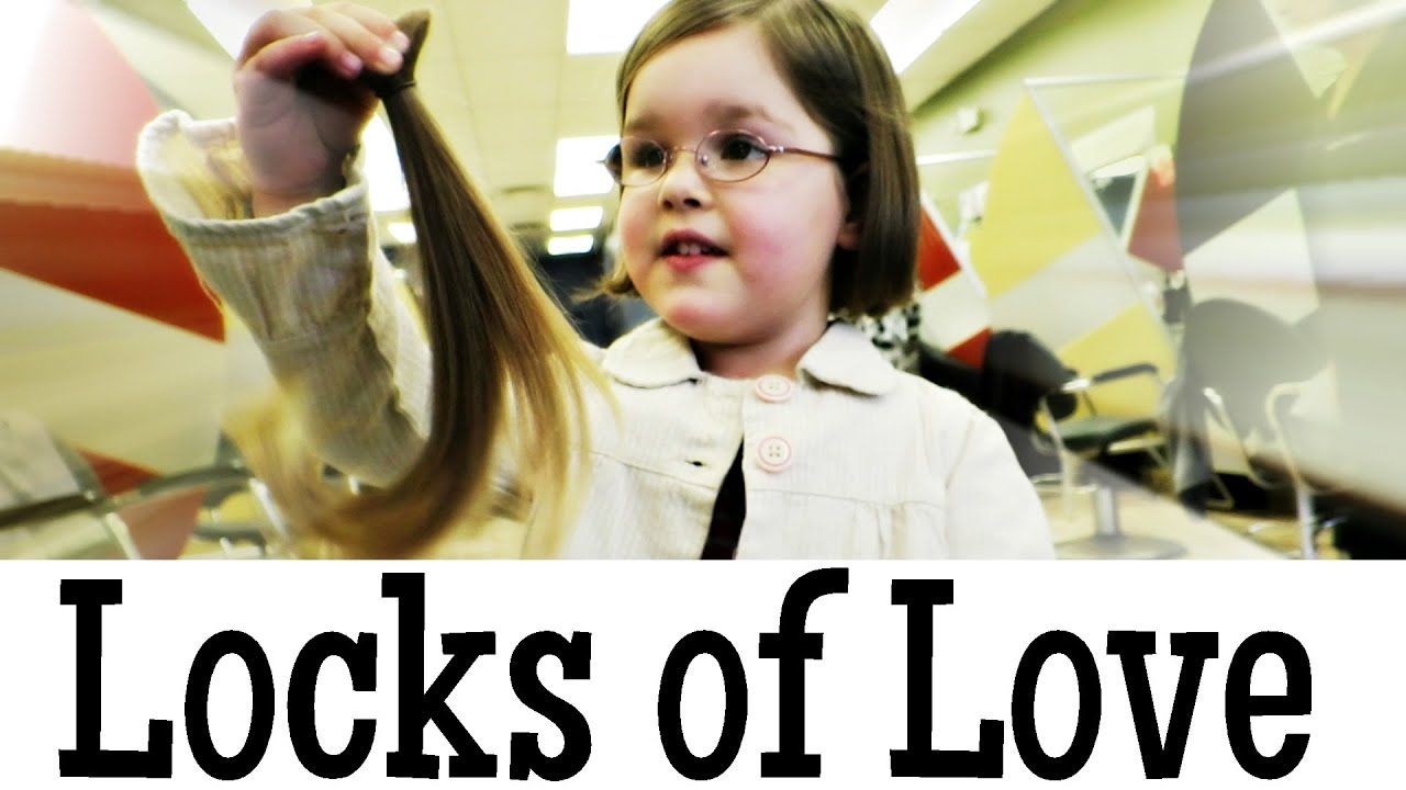 Locks Of Love 5 Year Old Donates Hair Youtube