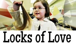 Locks of Love: 5 Year Old Donates Hair