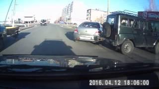 авария в Шатуре у Пятерочки на Борзова