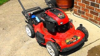 How To FIX A TORO LAWNMOWER that STARTS then DIES. Will Not Stay Running. STARTS THEN STOPS
