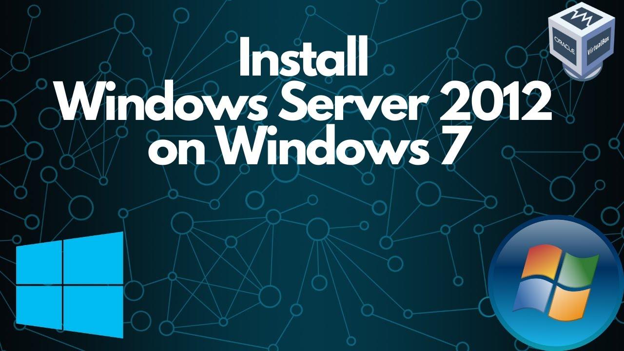 Setup and Install Windows Server 2012 on Virtualbox - YouTube