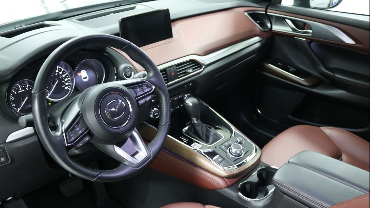 2016 2017 mazda cx 9 signature interior the most. Black Bedroom Furniture Sets. Home Design Ideas