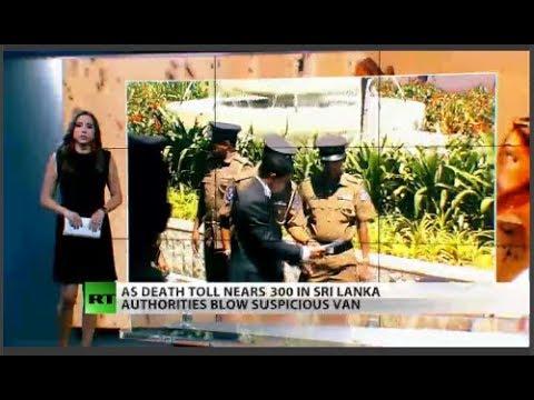 RT America: Death toll nears 300 in Sri Lanka's bombings