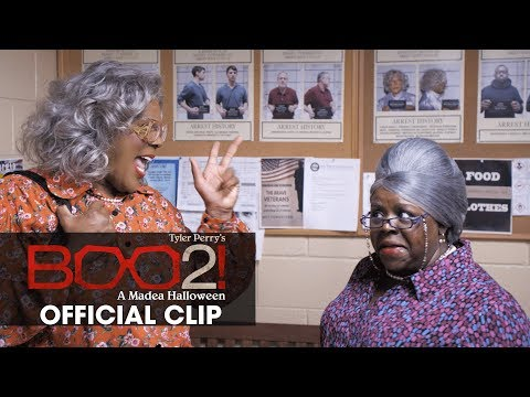 """Boo 2! A Madea Halloween (2017 Movie) Official Clip """"Wanted"""" – Tyler Perry"""