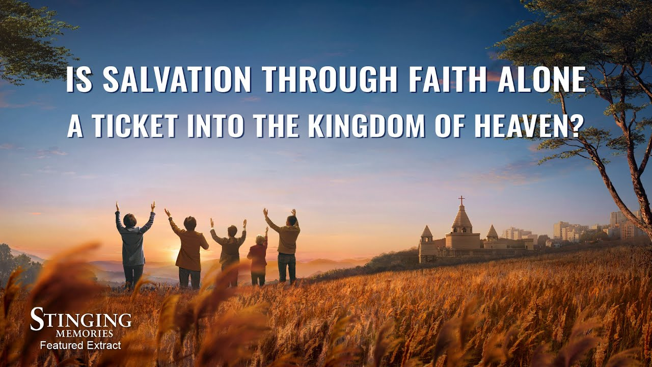 """Gospel Movie Extract 1 From """"Stinging Memories"""": Is Salvation Through Faith Alone a Ticket Into the Kingdom of Heaven?"""
