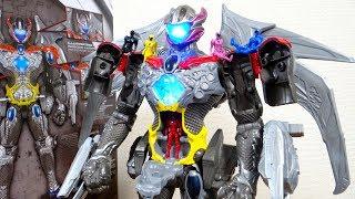 国内正規版 DXメガゾード パワーレンジャー2017 レビュー!LED発光 & 音声発動 ミニフィギュア5体付属 PowerRangers thumbnail